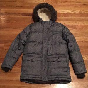 Old Navy Boys Winter Puffer Coat